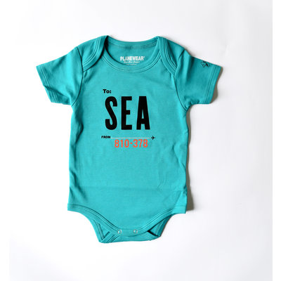 SEA Bright Green Bodysuit
