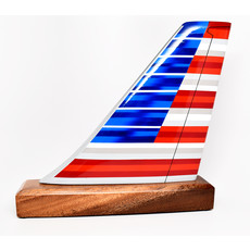 American  New Logo Tail
