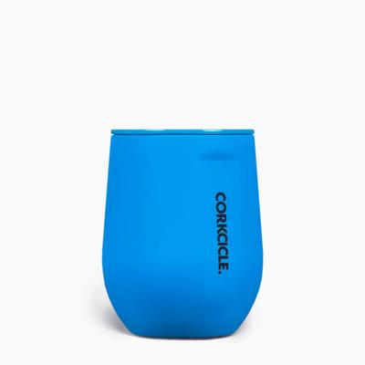 Neon Lights Blue Stemless Cup