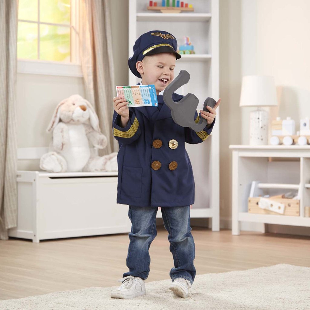 Pilot Role Play Costume Set 3-6 years