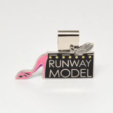 SkyClip Glitter Shoe RUNWAY MODEL