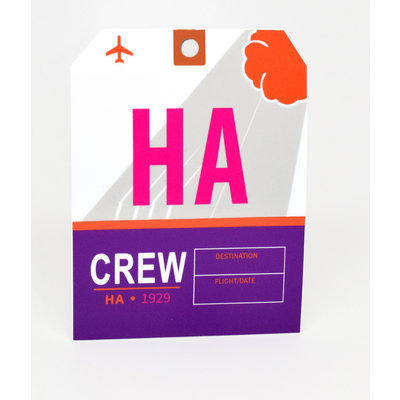HA CREW Sticker