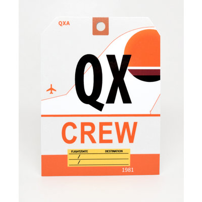 QX CREW Sticker