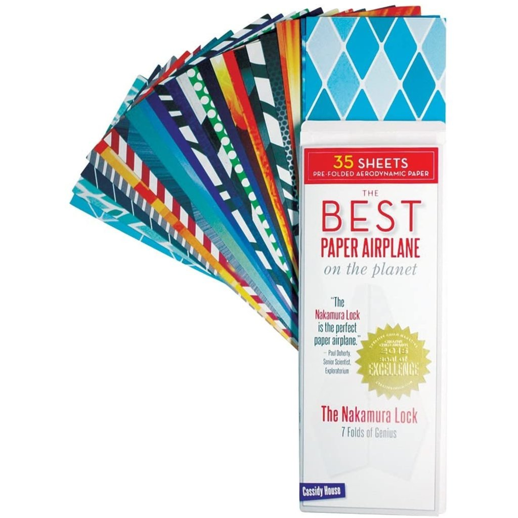 The Best Paper Airplane on the Planet