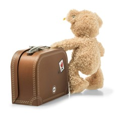 Flynn Teddy Bear in Suitcase