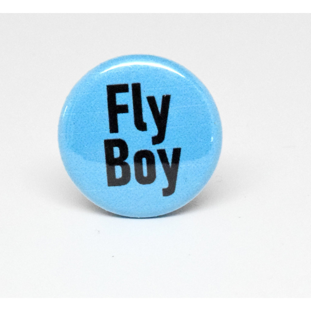 Pinback Button Fly Boy