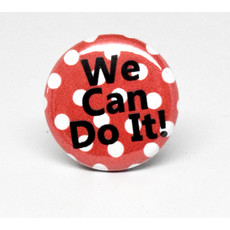 Pinback Button We can do it
