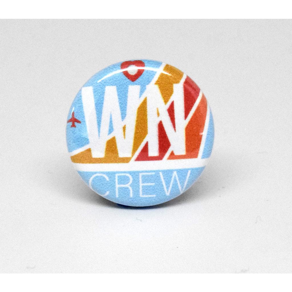 Pinback Button Southwest Crew
