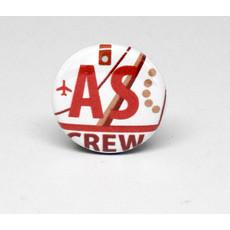 Pinback Button Alaska Crew