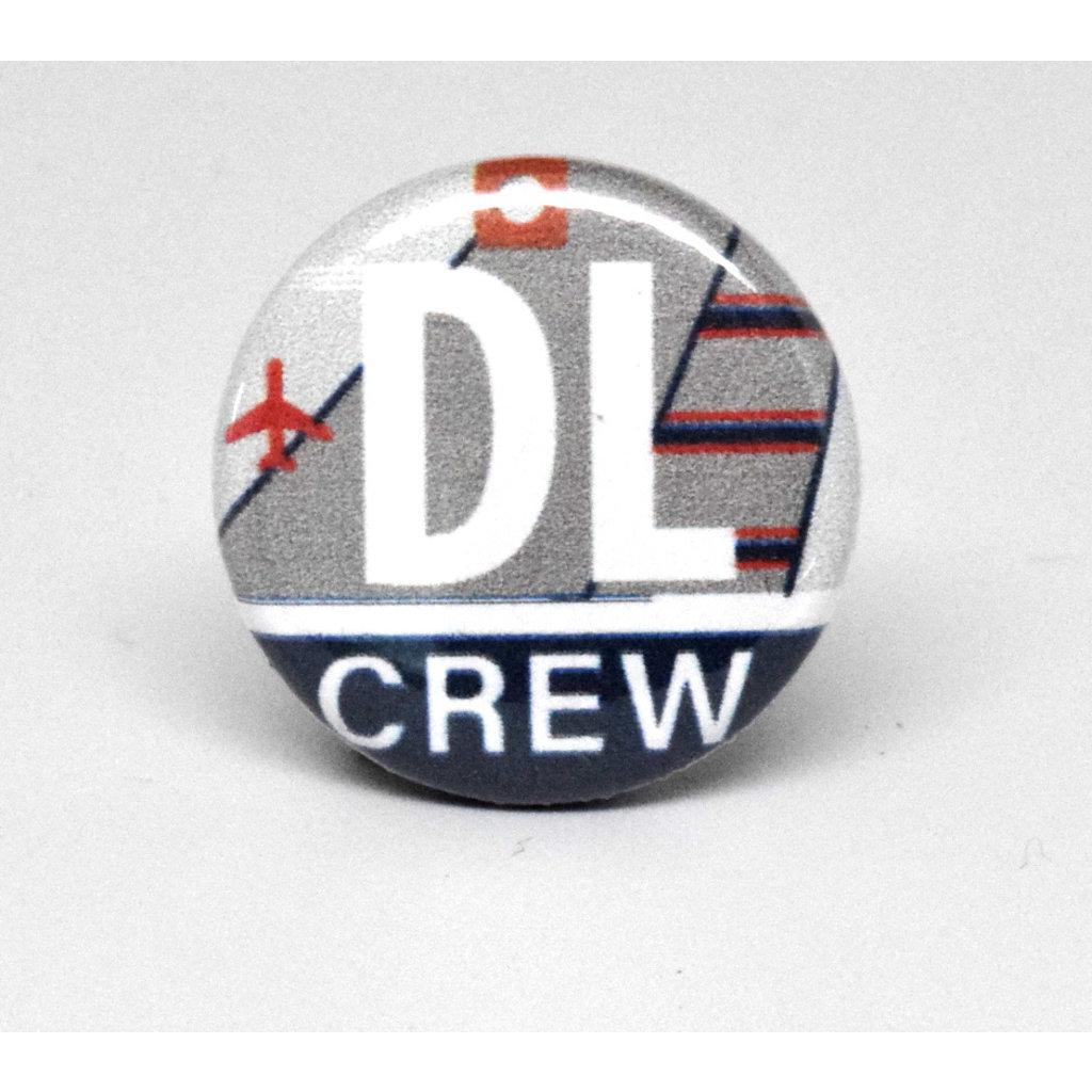 Pinback Button Delta Crew