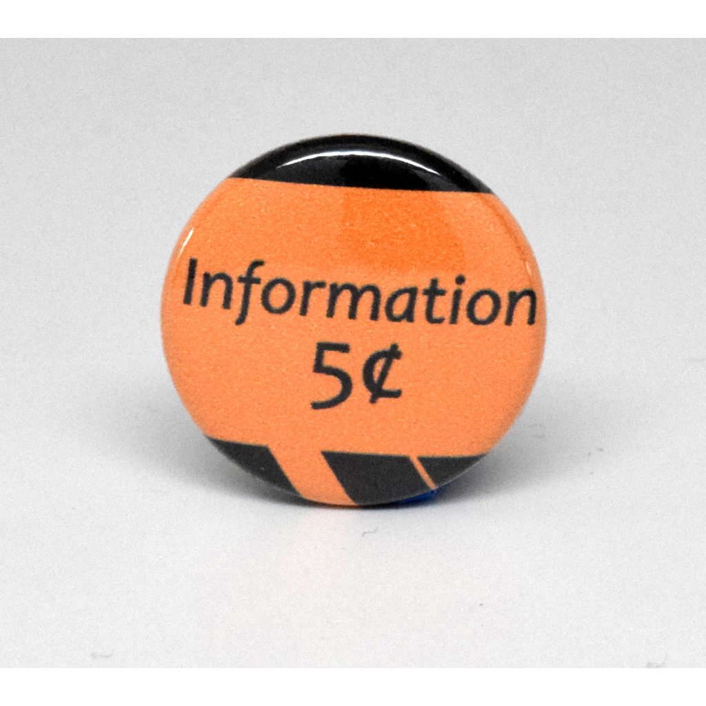 Pinback Button Information 5 cents
