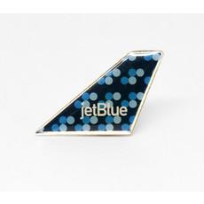 Lapel Tail Pin Jet Blue
