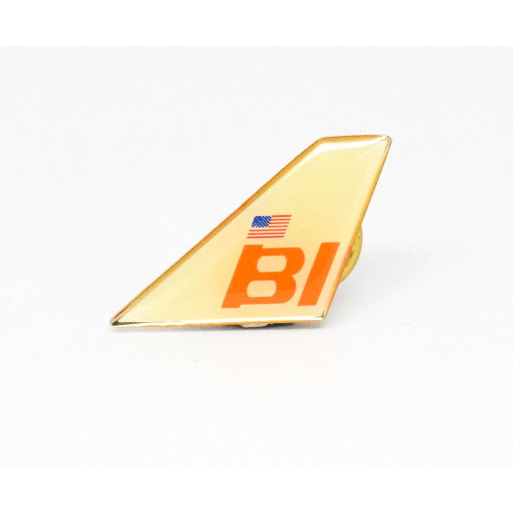Lapel Tail Pin Braniff-disc.