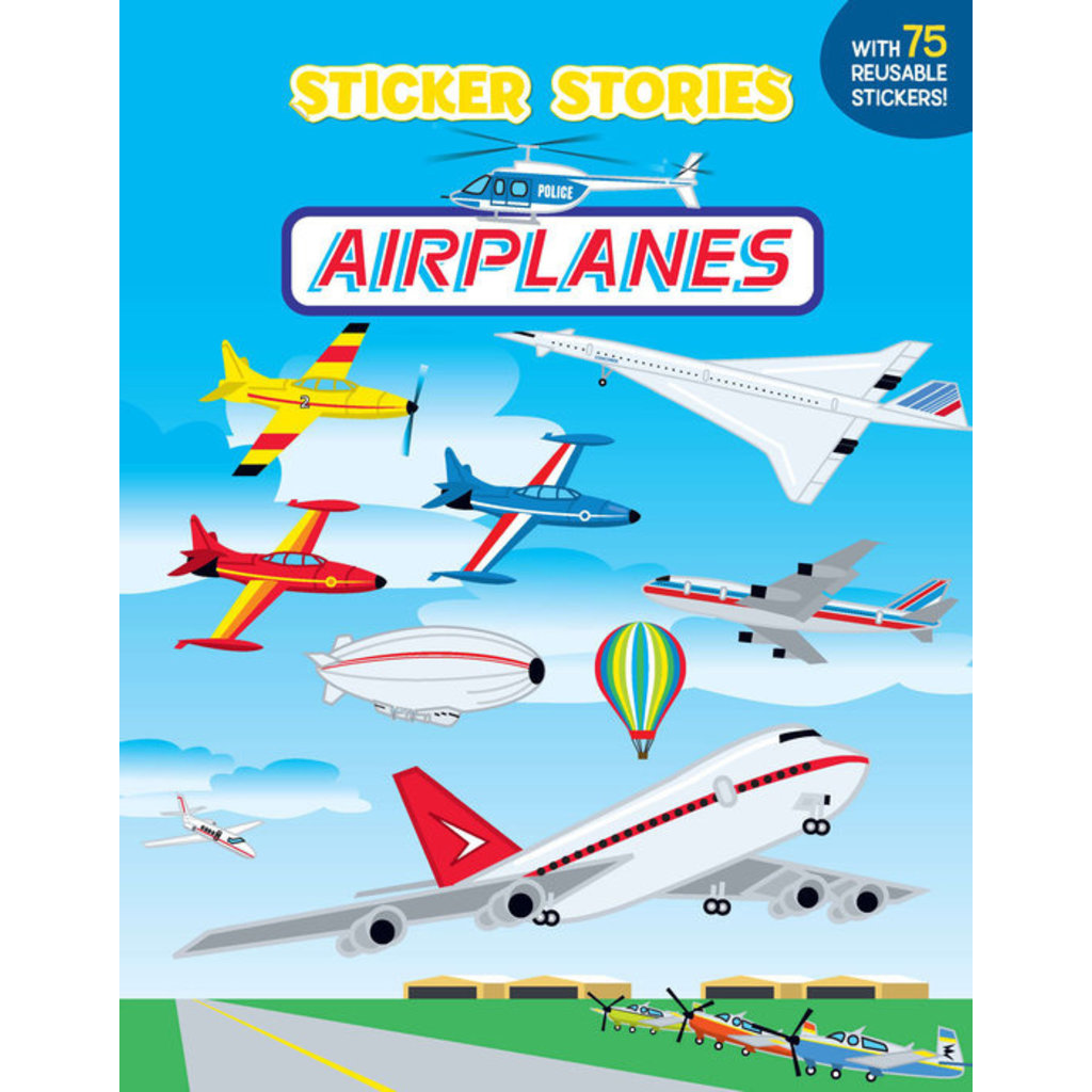 Sticker Stories Airplanes