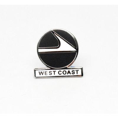 West Coast 1960's Logo  Pin Collectors