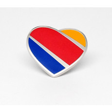 Southwest Heart  Pin Collectors