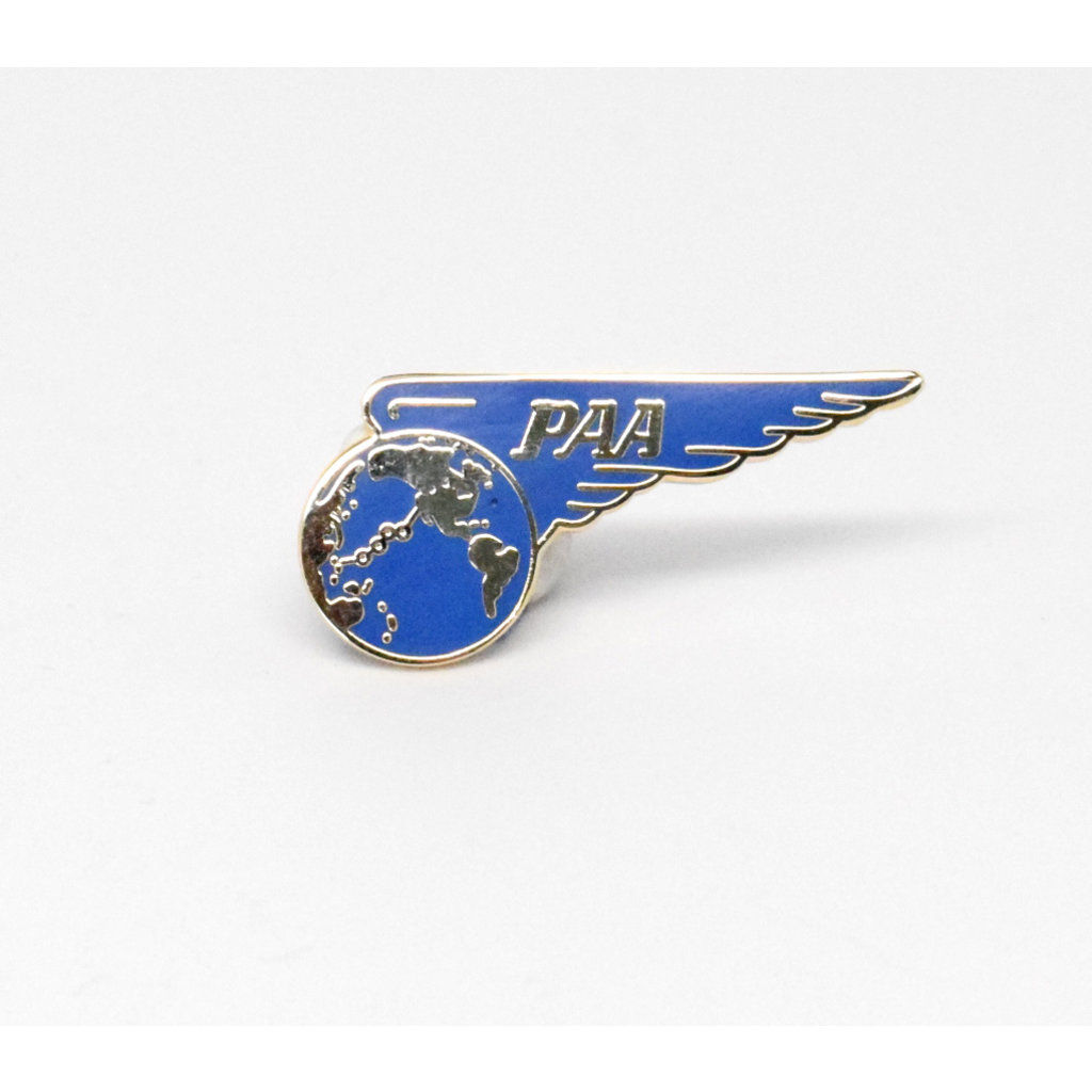 Pan Am 1940's Pacific Route   Pin Collectors