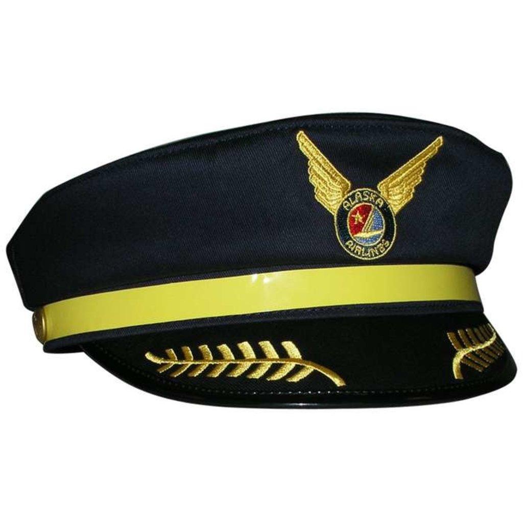Kids Captains Cap Alaska Airlines