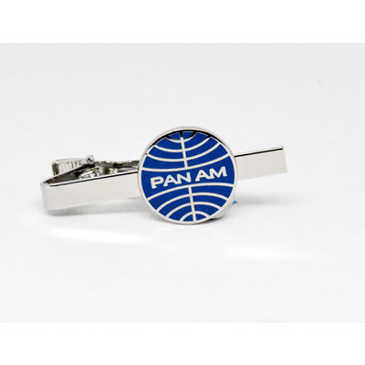 Pan Am Globe Logo Tiebar