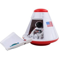 Space Capsule with Figure