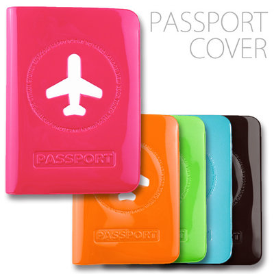 Happy Life Passport Cover