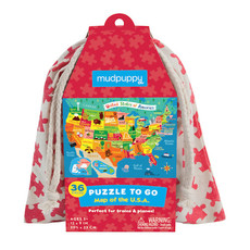 Puzzle to Go Map of the USA