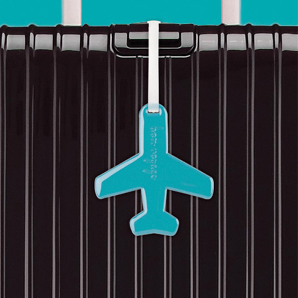 Airplane Luggage Tag