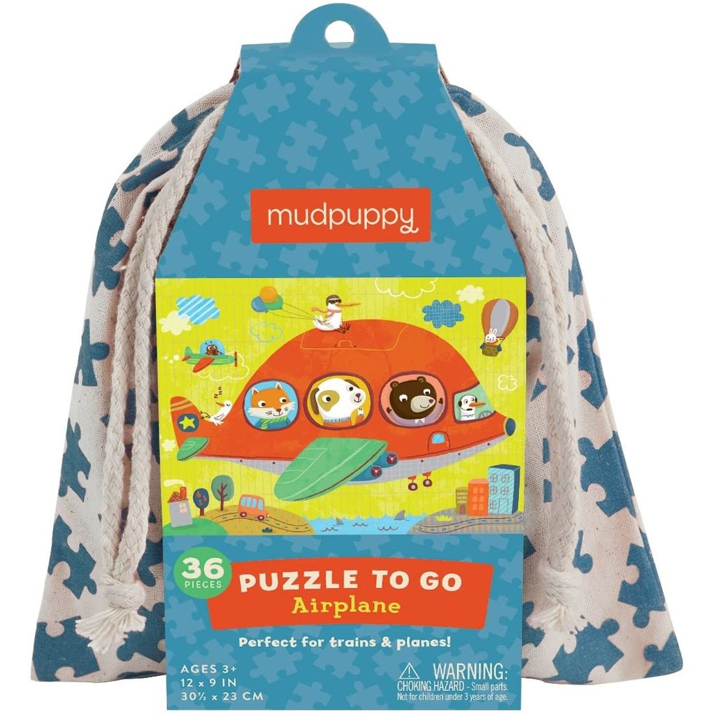 Puzzle to Go Airplane