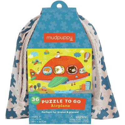 Puzzle to Go Airplane-Disc.