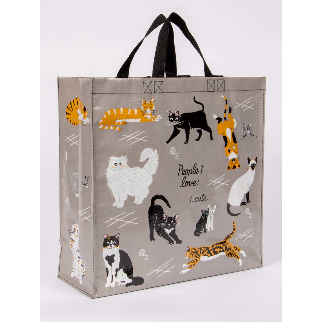 Shopper Bag - People I Love: Cats