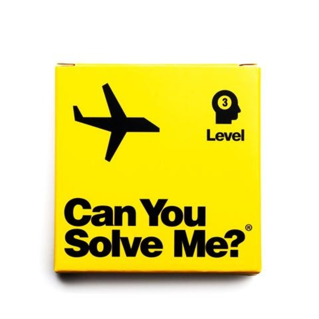 Can you Solve Me? - Airplane Puzzle