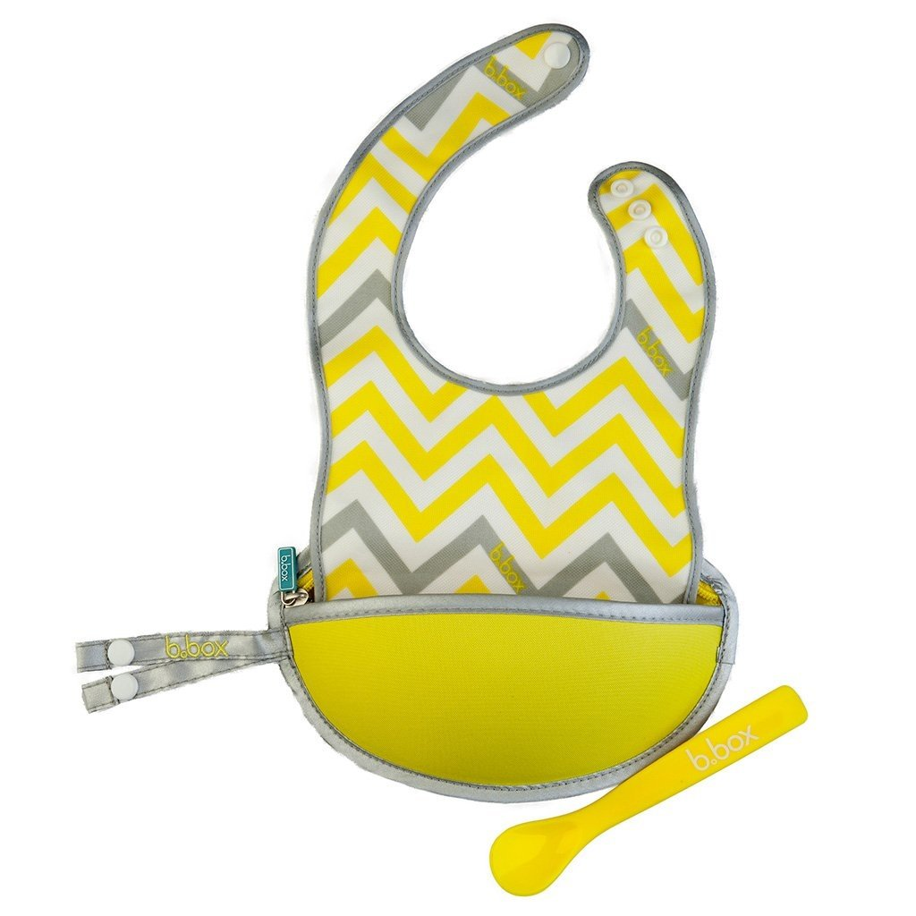 Travel Bib with Spoon