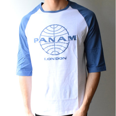 Men's Pan Am British Invasion Baseball Tee