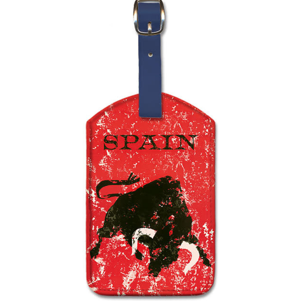 Luggage Tag    Spanish Bull Fighting-Spain