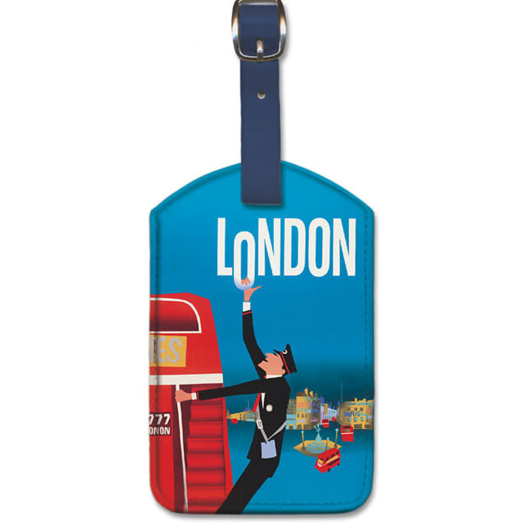 Luggage Tag Pan Am London