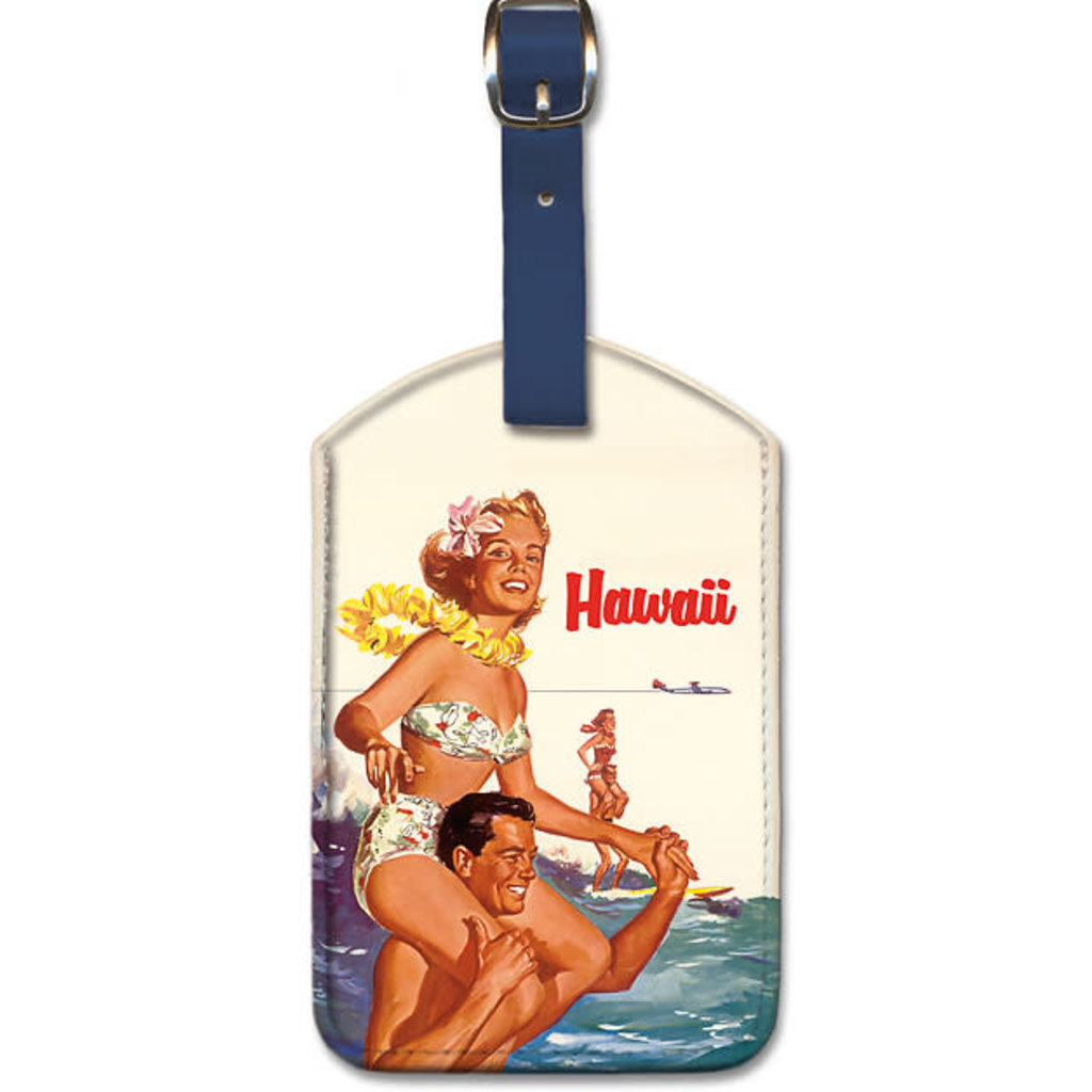 Luggage Tag Northwest Orient Hawaiian