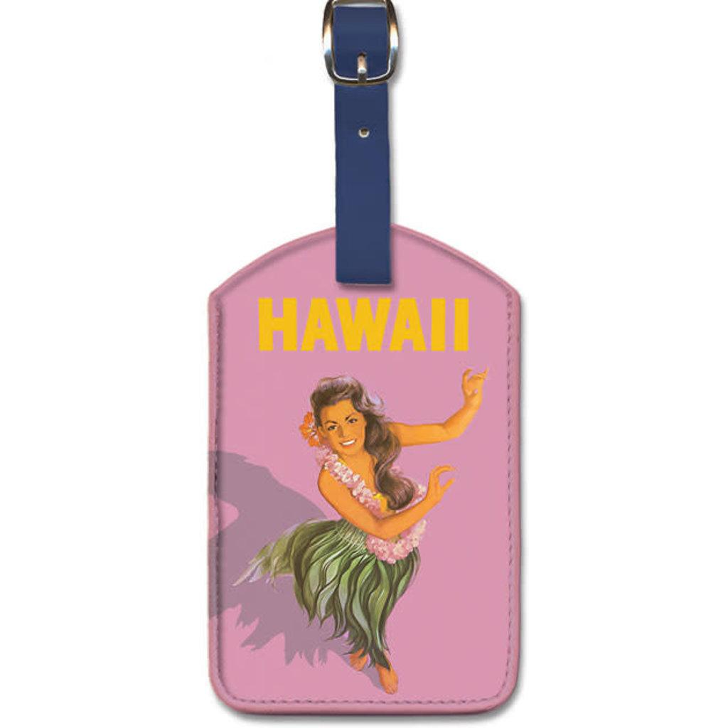 Luggage Tag   Hula Dancer-Hawaii