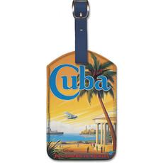 Luggage Tag Pan Am Visit CUBA