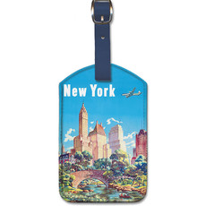 Luggage Tag United Airlines Central Park Manhattan