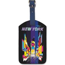 Luggage Tag TWA New York Times Square
