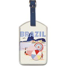 Luggage Tag Braniff Airways Rio de Janiero Brazil