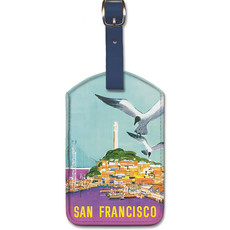 Luggage Tag American Airlines Wharf San Francisco