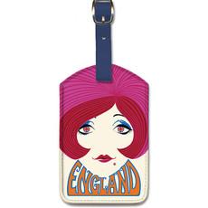 Luggage Tag Pan Am England