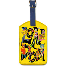 Luggage Tag The Beatles with Maharaja London England