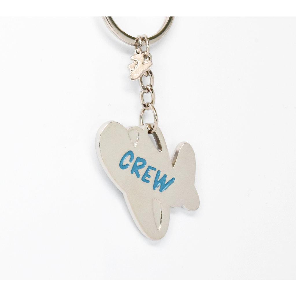 "Jumpseat ""Crew"" Keychain"