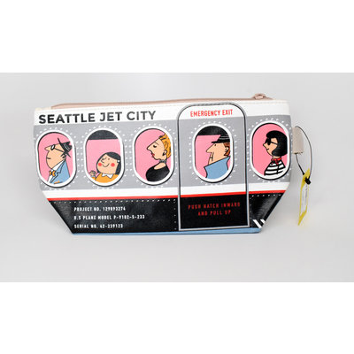 Seattle Jet-Setters  Pouch-Med