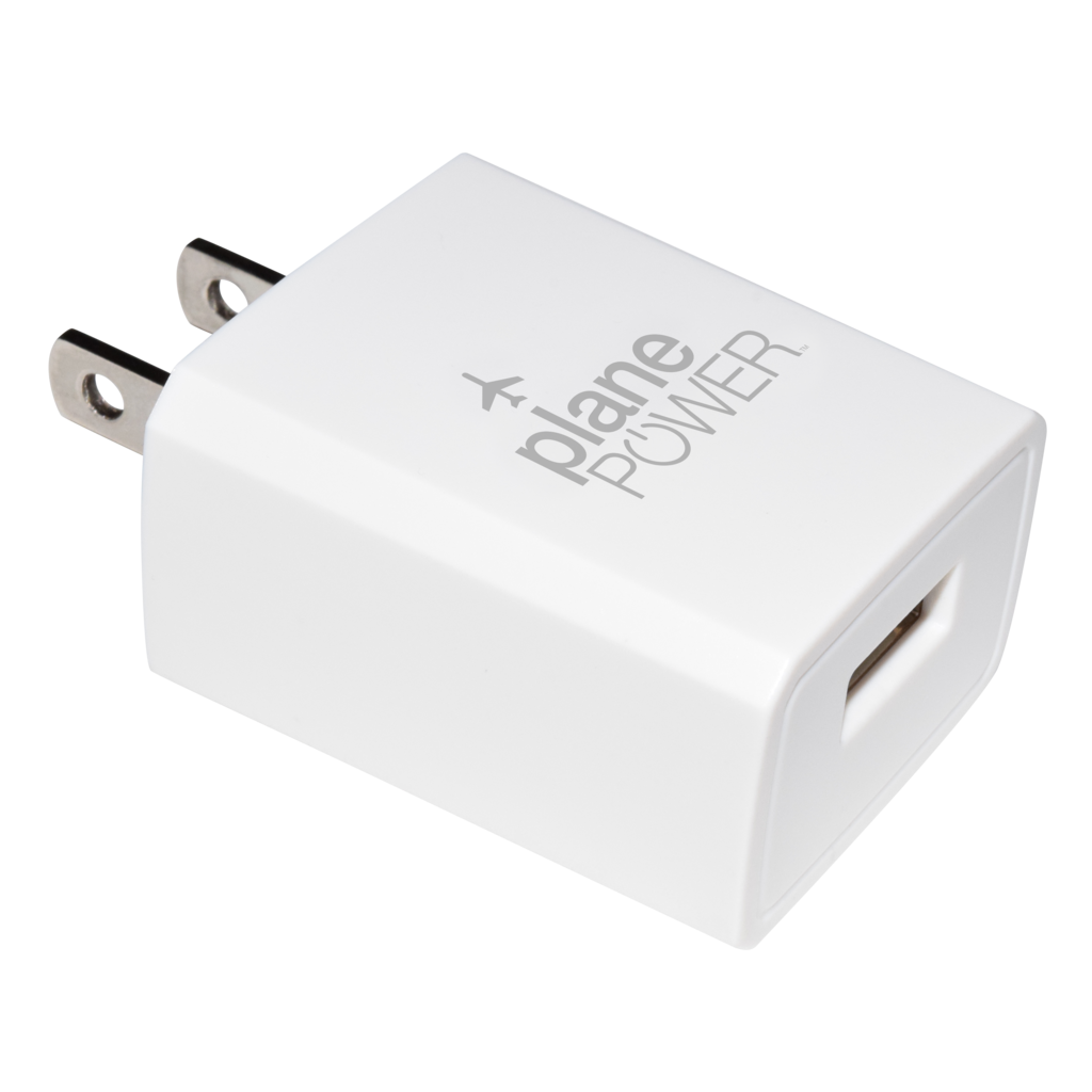 Plane Power Single Port Wall Charger