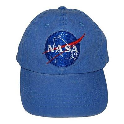 Nasa Hat Vintage Blue