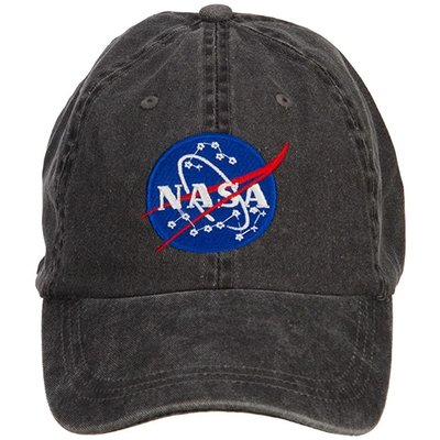 Nasa Hat Vintage Grey