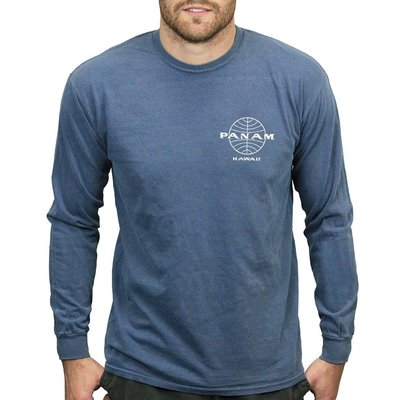 Pan Am Globe Men's Long Sleeve
